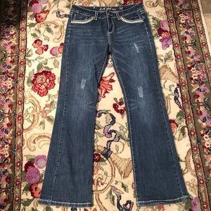 L.A. idol Jeans - SOLD EUC 33x34 LA Idol Bootcut Jeans